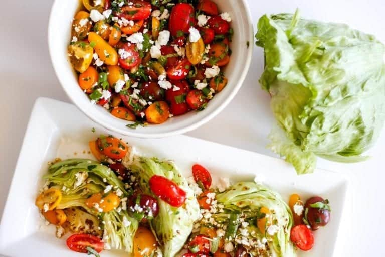 Salade de Tomates marinées