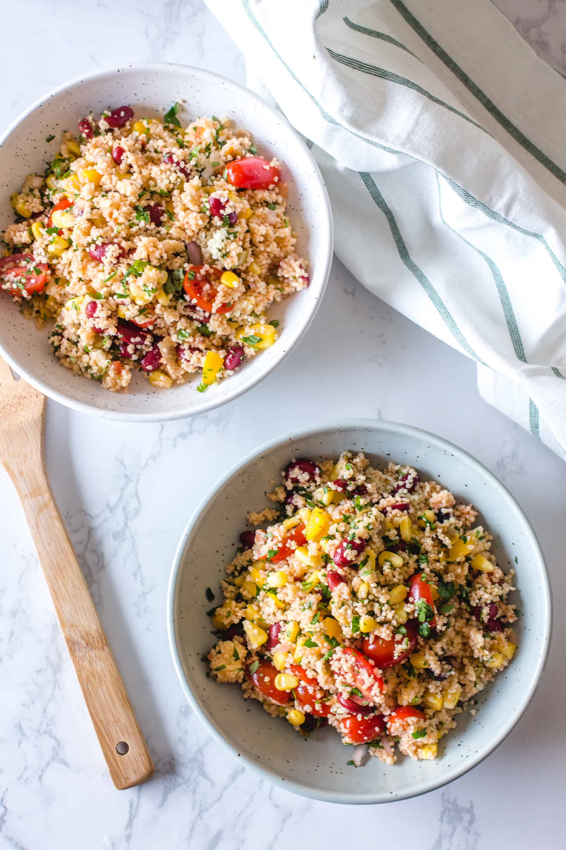 Salade de Couscous à la Mexicaine