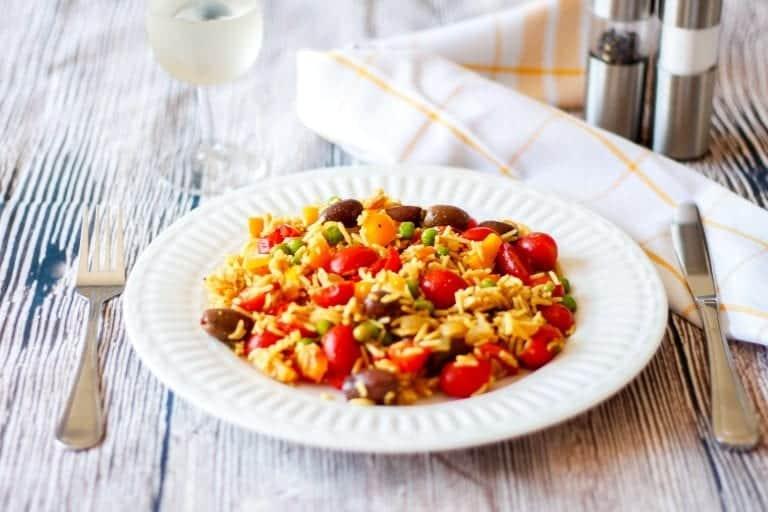 riz rapide aux légumes