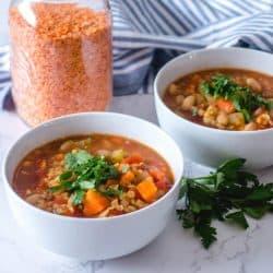 Soupe Rapide aux Lentilles