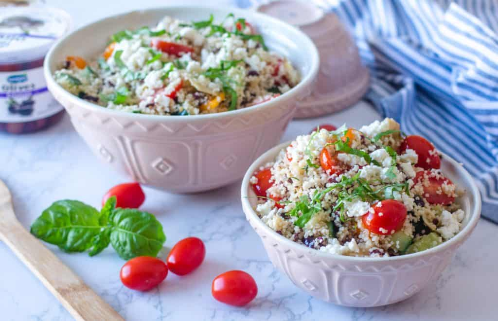 The best Mediterranean Couscous Salad