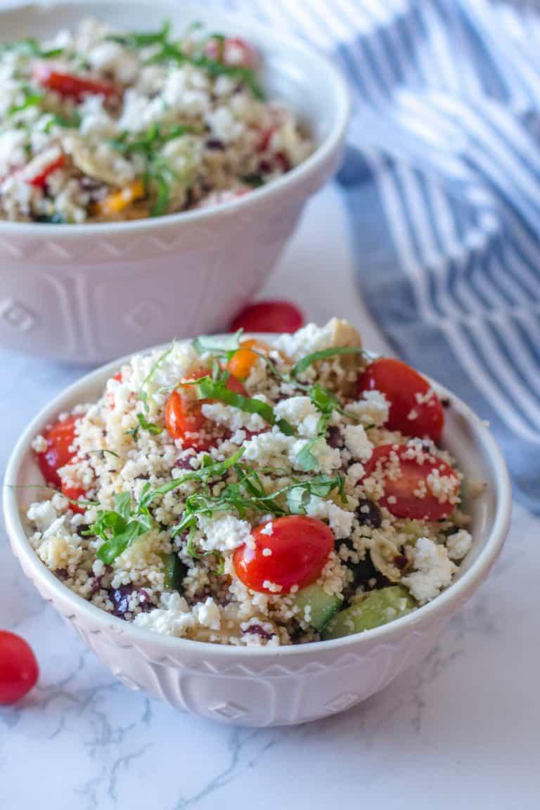 Salade de Couscous à la Méditerranéenne