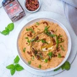 Hummus Rapide aux Tomates Séchées