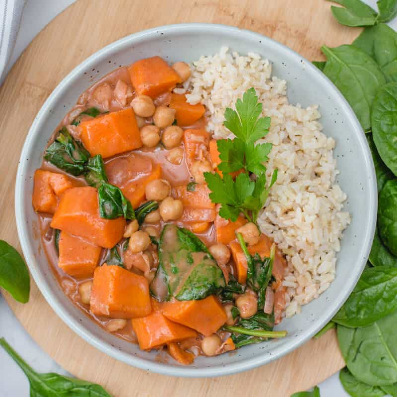 Vegan Sweet Potato Stew
