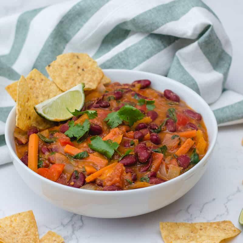 The Best Vegetarian Chili