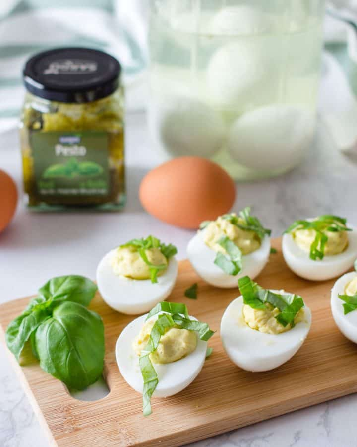 Oeufs Farcies au Pesto