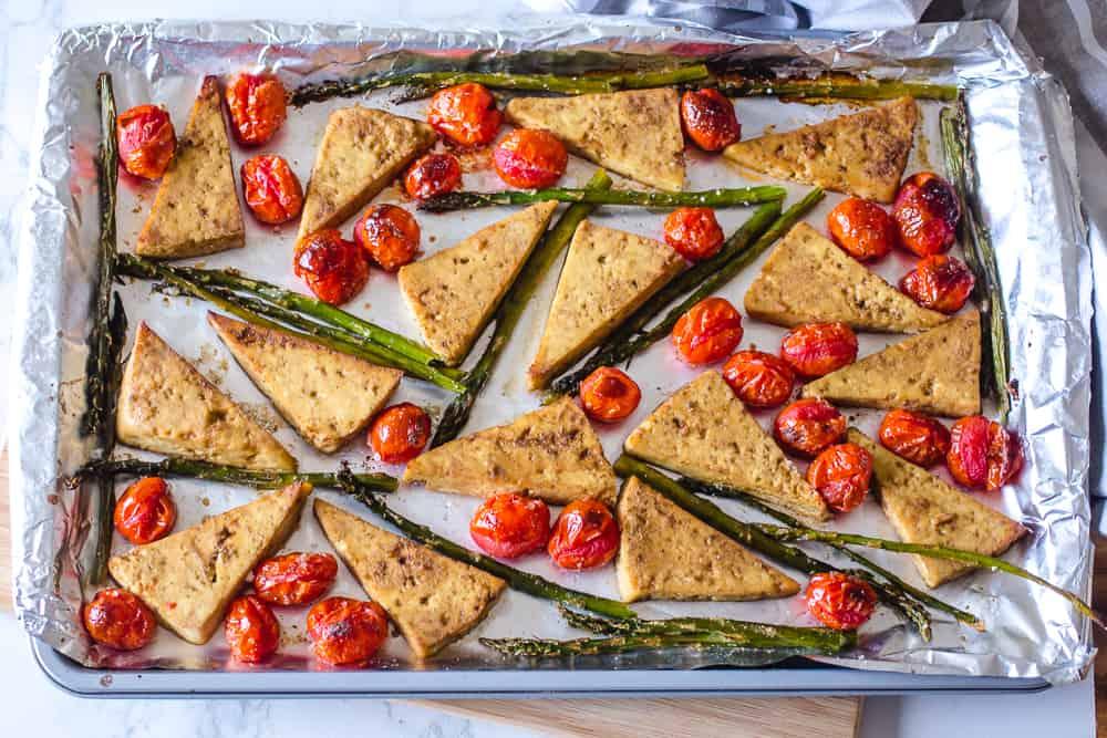Italian Style Tofu in the Oven