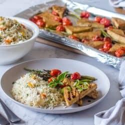 Tofu Mariné à l'Italienne au Four