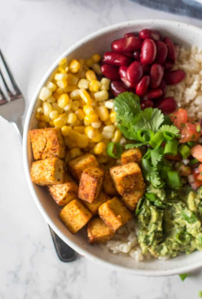 Healthy Mexican bowl