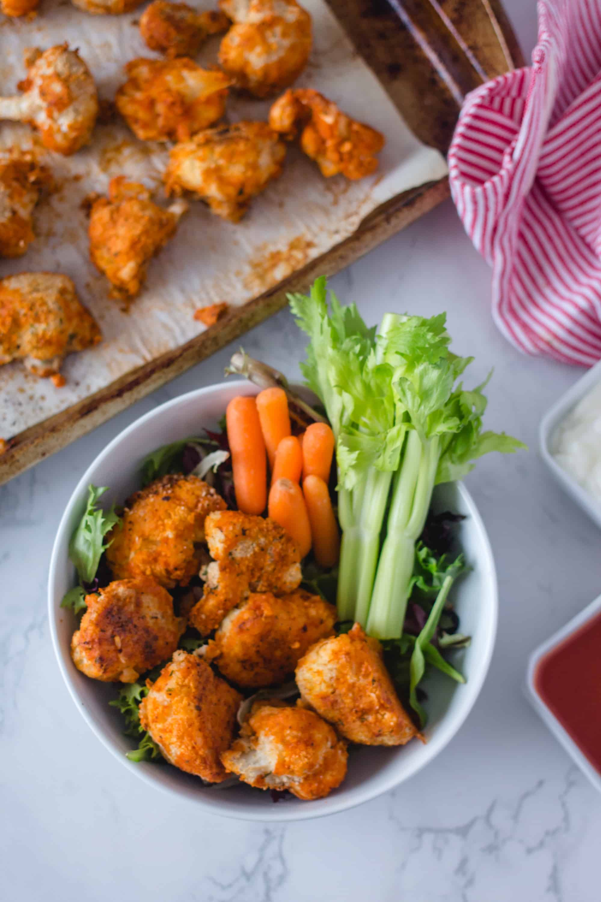 BBQ Cauliflower Wings