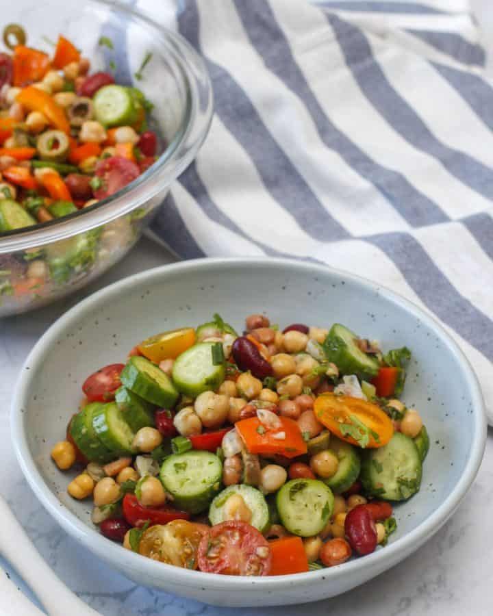 High Protein bean Salad