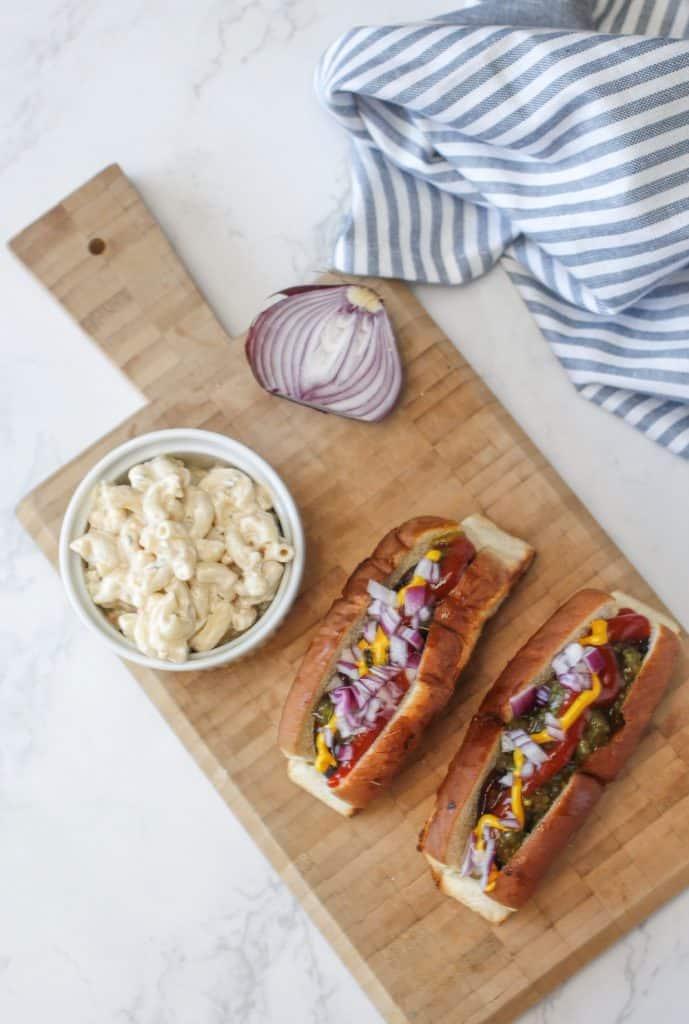 Portobello Hot Dog