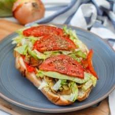 Vegan Sub Sandwich