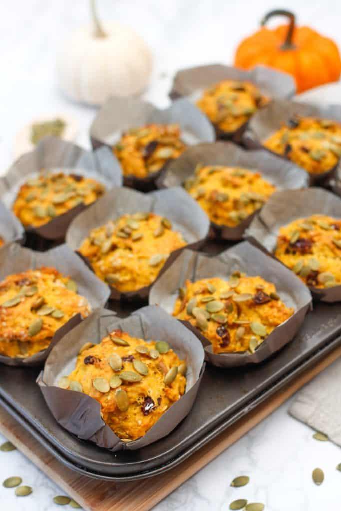 Rustic Pumpkin Muffins