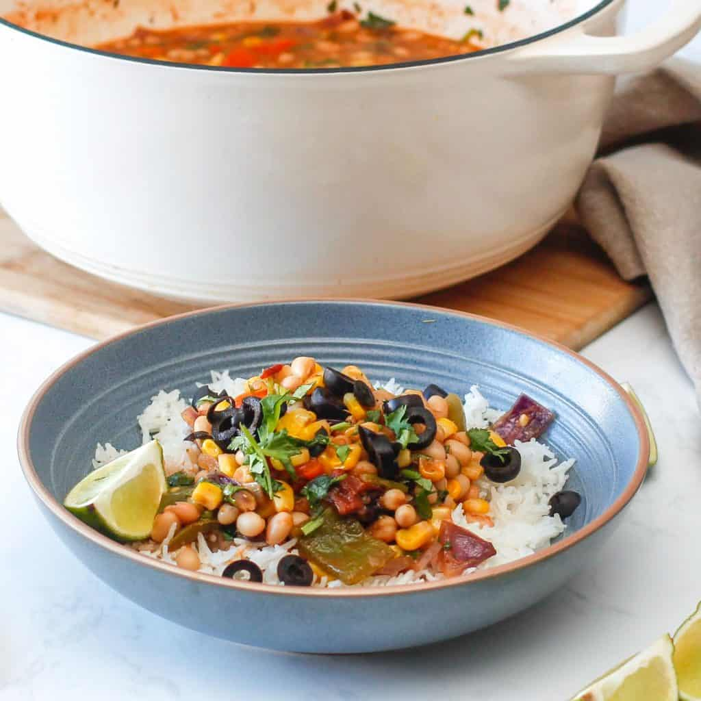 Easy Mexican Bean Stew