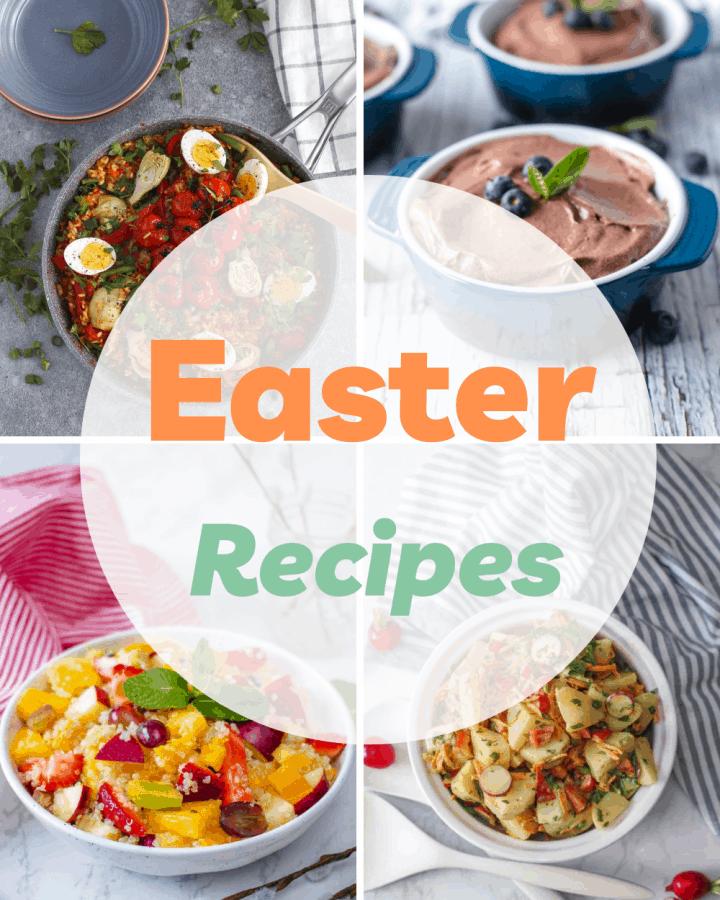 Vegan and vegetarian Easter Recipes