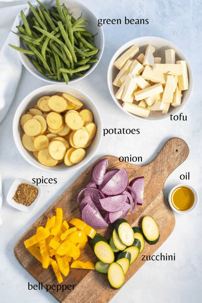 all the ingredients you need to make the recipe